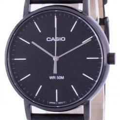 Casio Black Dial Quartz MTP-E171BL-1E MTPE171BL-1 Mens Watch