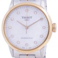 Tissot Luxury Lady Powermatic 80 Diamond Accents Automatic T086.207.22.116.00 T0862072211600 Womens Watch