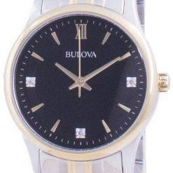 Bulova Diamond Accents Quartz 98P196 Womens Watch