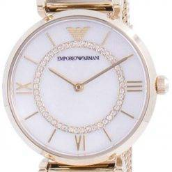 Emporio Armani Gianni T-Bar Diamond Accents Quartz AR11321 Womens Watch