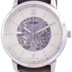 Fossil Neutra Skeleton Dial Automatic ME3184 Mens Watch