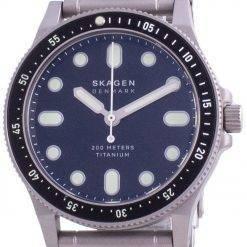 Skagen Fisk Titanium Limited Edition Quartz SKW6671 200M Mens Watch