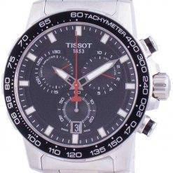 Tissot Supersport Chrono Quartz T125.617.11.051.00 T1256171105100 100M Mens Watch