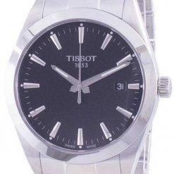 Tissot Gentleman Quartz T127.410.11.051.00 T1274101105100 100M Mens Watch