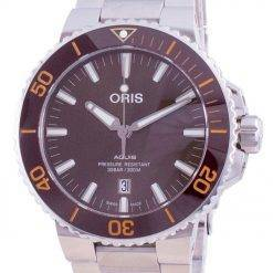 Oris Aquis Date Automatic Diver's 01-733-7730-4152-07-8-24-05PEB 300M Men's Watch