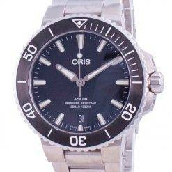 Oris Aquis Date Automatic Diver's 01-733-7732-4124-07-8-21-05EB 300M Men's Watch