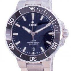 Oris Aquis Date Automatic Diver's 01-733-7732-4135-07-8-21-05PEB 300M Men's Watch