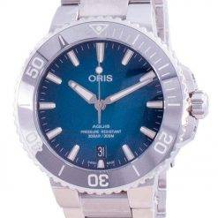 Oris Aquis Date Automatic Diver's 01-733-7732-4155-07-8-21-05PEB 300M Men's Watch