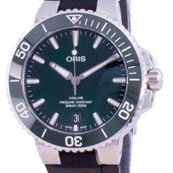 Oris Aquis Date Automatic Diver's 01-733-7732-4157-07-4-21-64FC 300M Men's Watch