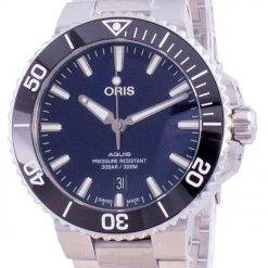 Oris Aquis Date Automatic Diver's 01-733-7766-4135-07-8-22-05PEB 300M Men's Watch